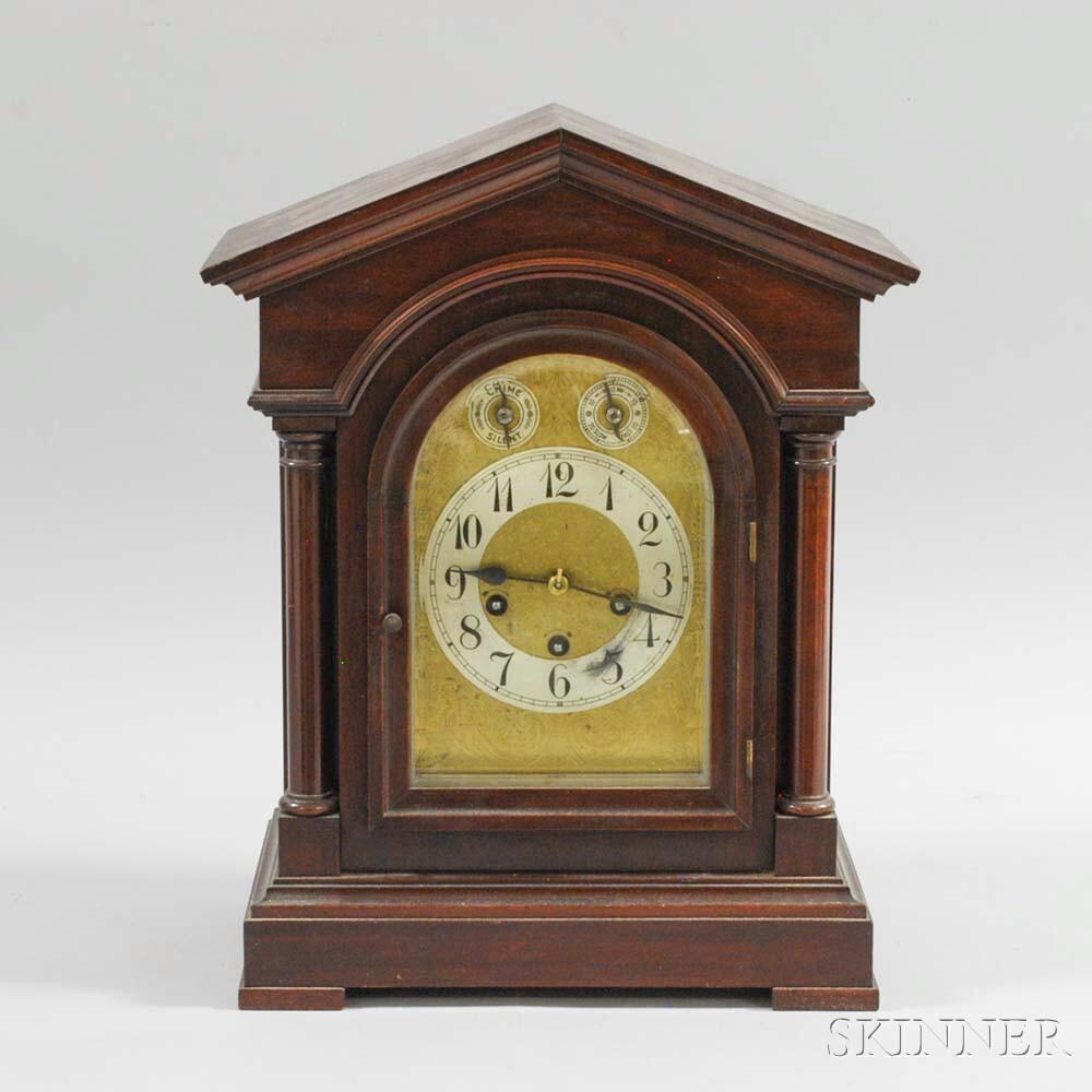 Mahogany German Chime Clock
