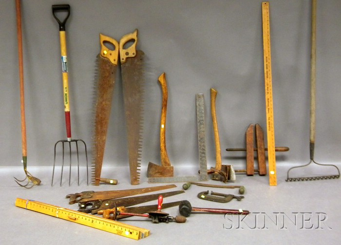 Group of Tools and Yardsticks.