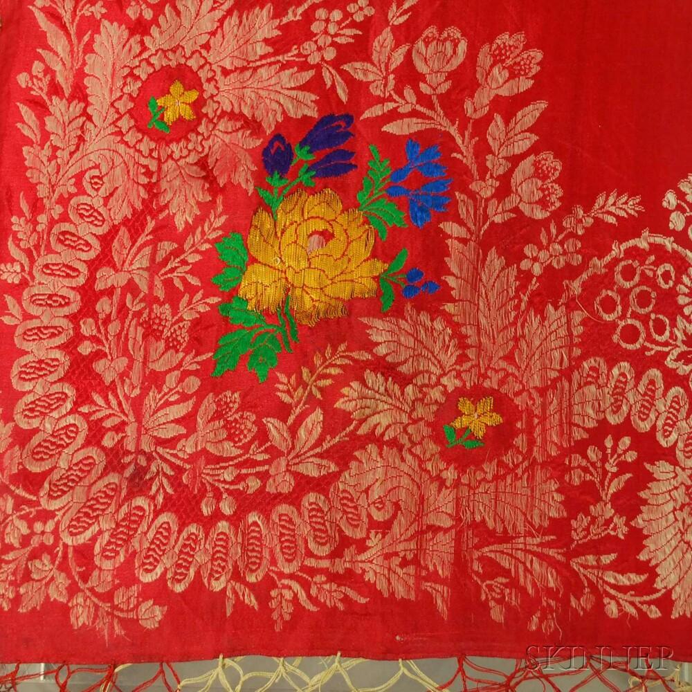 Seventeen Assorted Continental Textiles