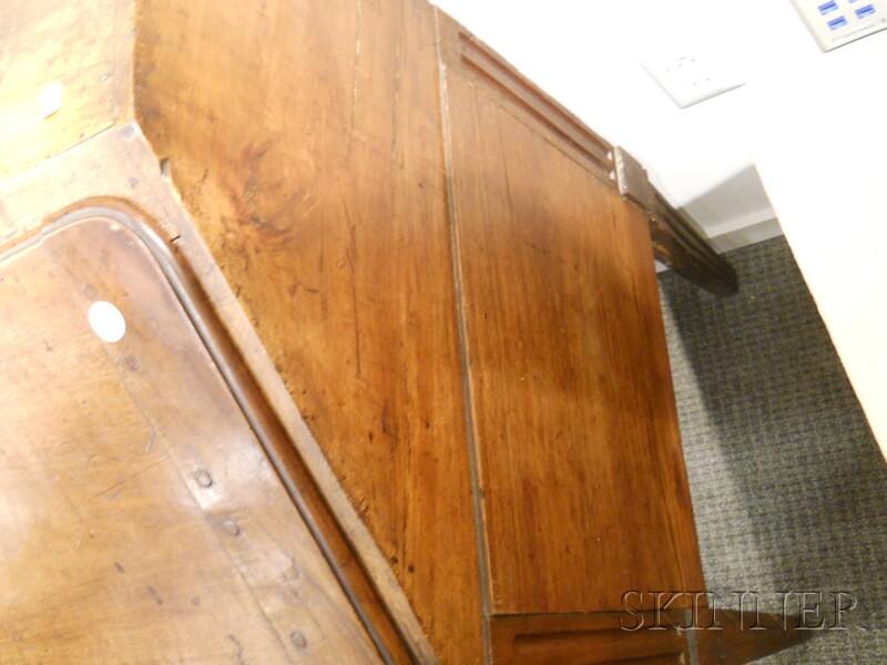 Provincial Fruitwood Slant-lid Desk