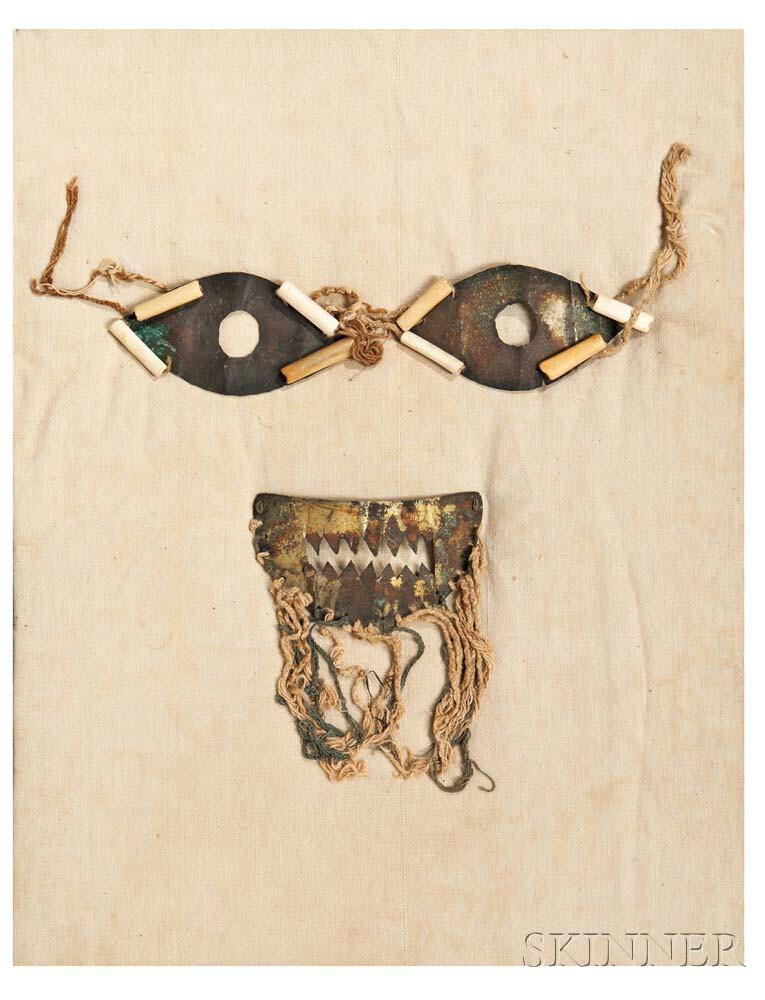 Tumbaga Eye and Mouth Mask