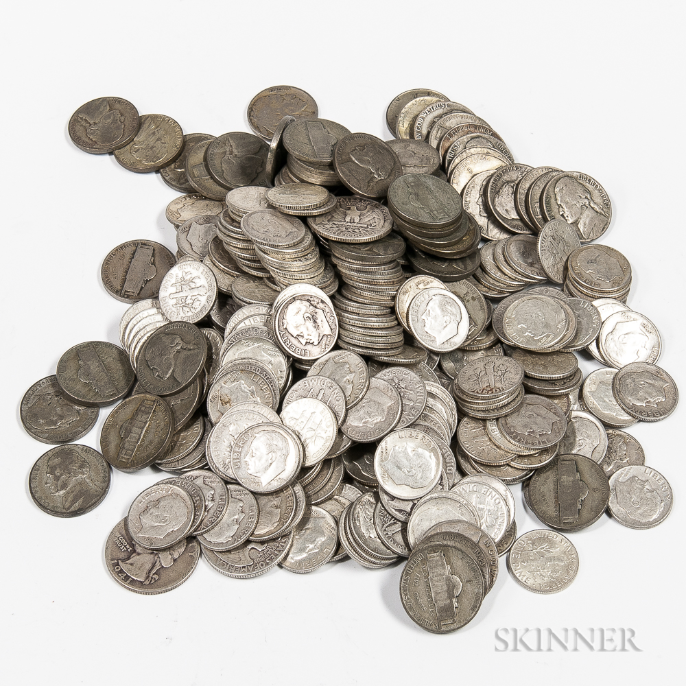 290 Mercury and Roosevelt Dimes