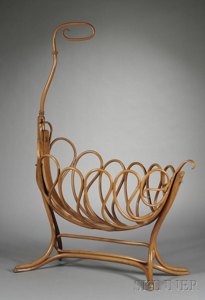 Austrian Bentwood Cradle