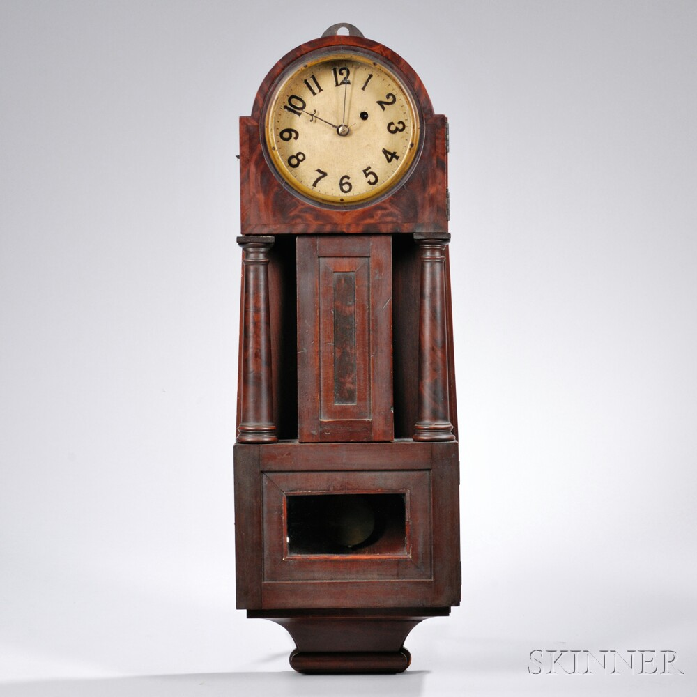 "Variation on Patent Timepiece or ""Banjo"" Clock"