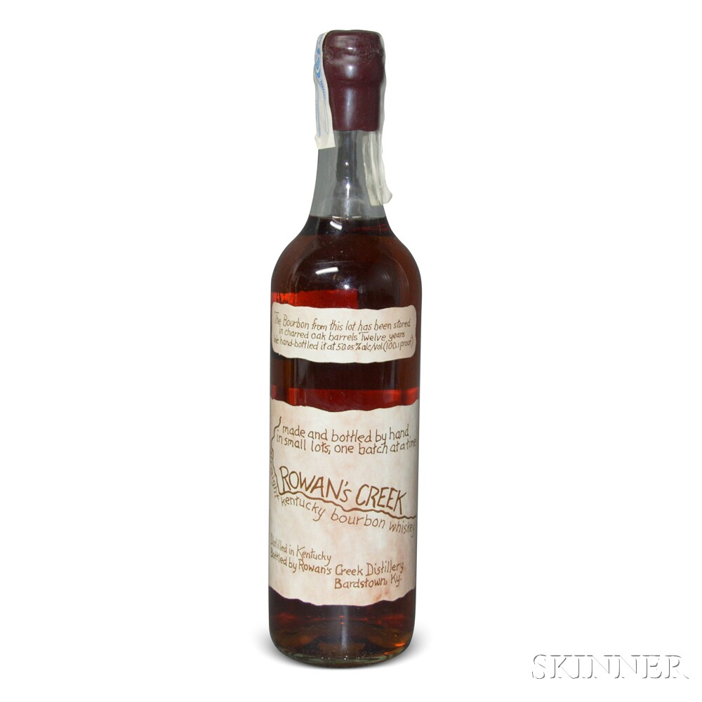 Rowens Creek Straight Kentucky Bourbon Whiskey 1995, 1 700ml bottle