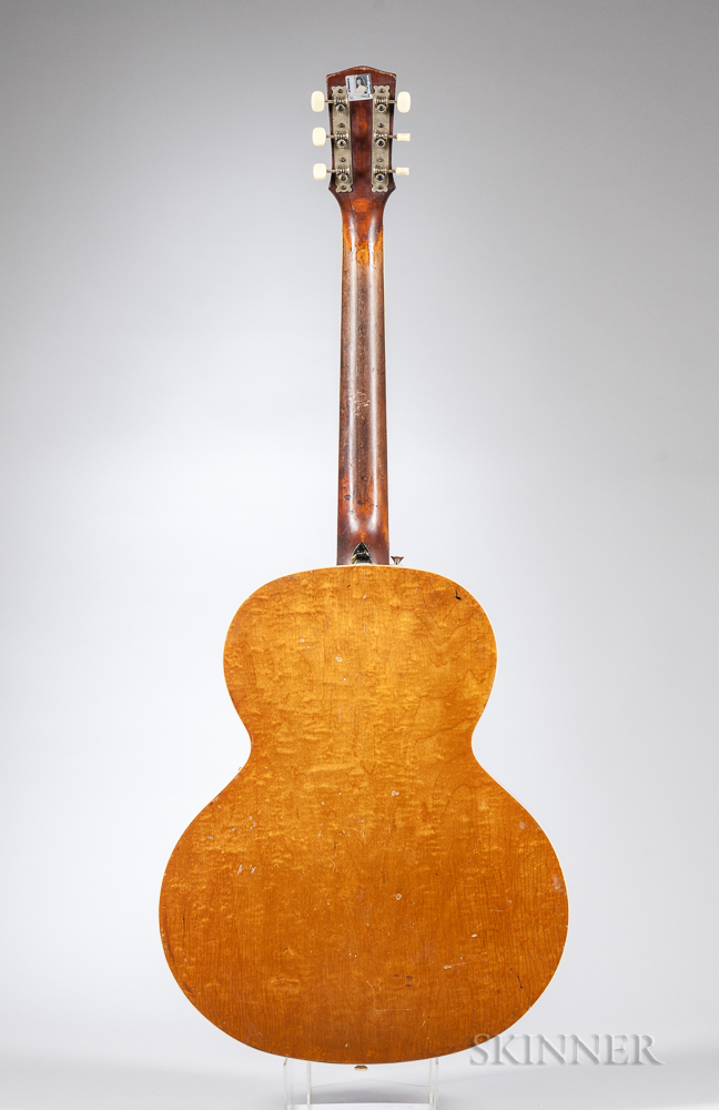 Vega Electrovox Electric Archtop Guitar, c. 1940
