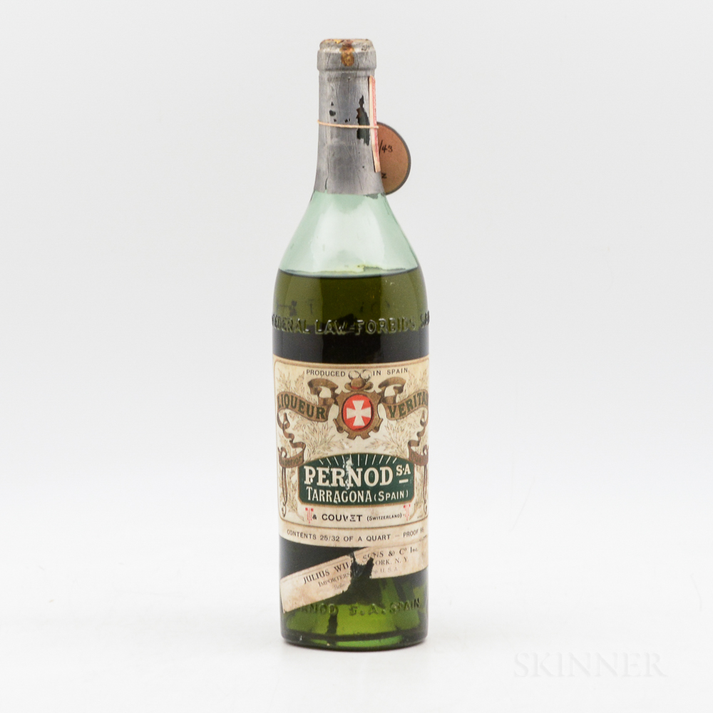 Pernod Liqueur Veritas, 1 4/5 quart bottle