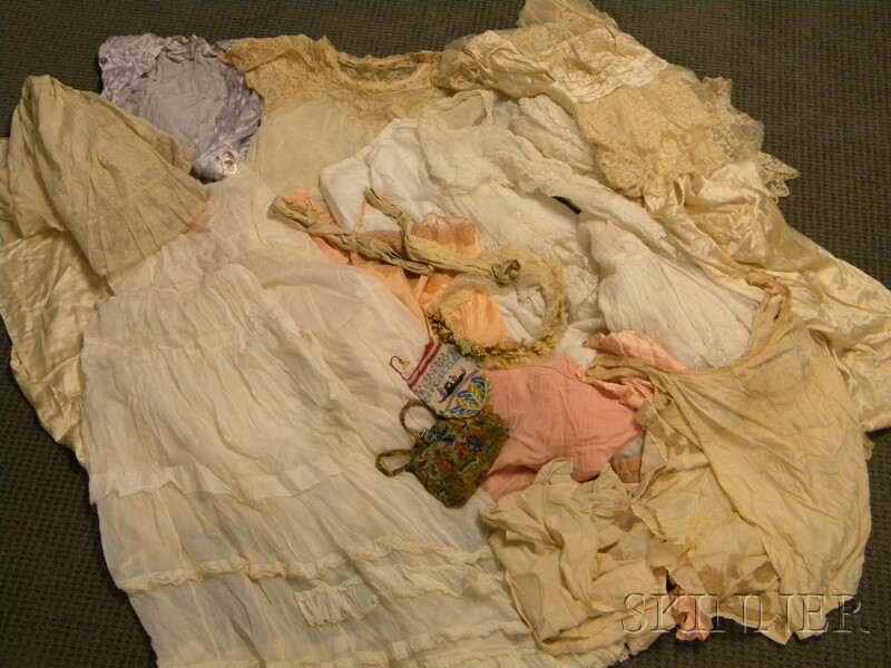 Group of Victorian and Edwardian Lady's Clothing and Accessory Items