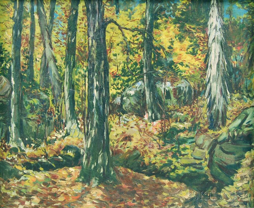American School, 20th Century      Autumn Forest.