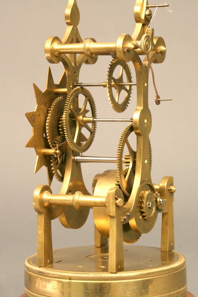 Peplow Skeleton Clock