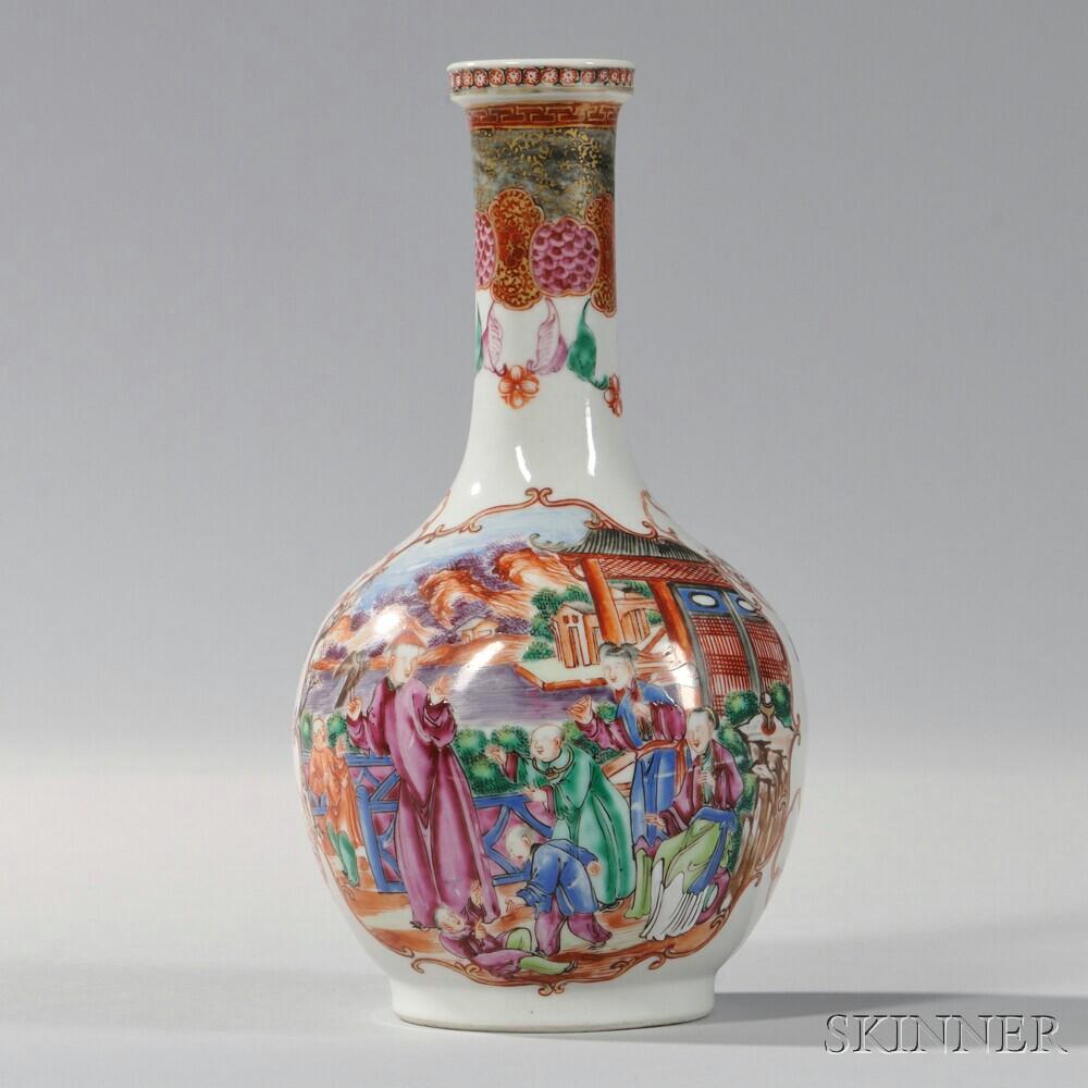 Export Porcelain Bottle-form Vase