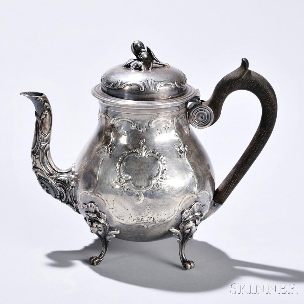 Continental Silver Teapot
