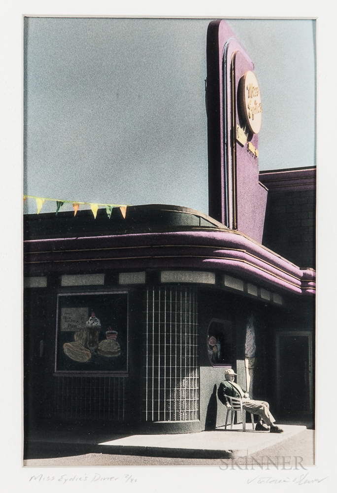 Victoria S. Blewer (American, 20th/21st Century)      Two Images: Northgate, N.D.