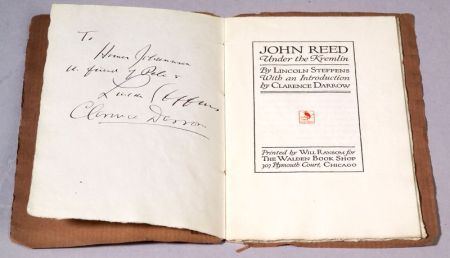 Steffens, Lincoln and Darrow, Clarence, Signed Copy