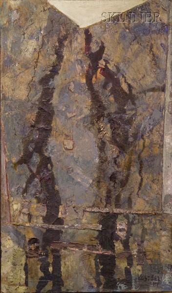 Aleksander Kobzdej (Russian/Polish, 1920-1972)      Verticalite