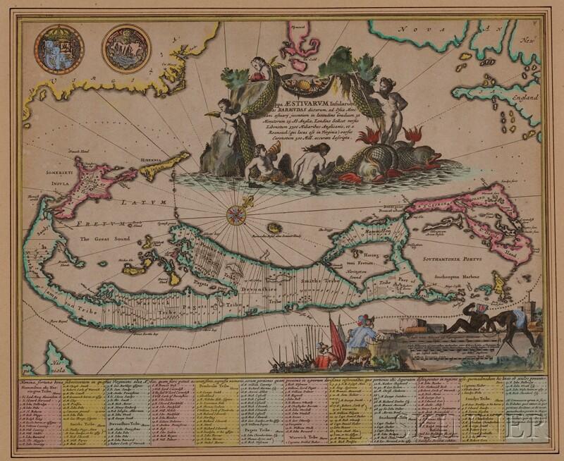(Maps and Charts, Bermuda), Ogilby, John