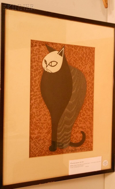 Kiyoshi Saito (Japanese, 1907-1997)      Stillness