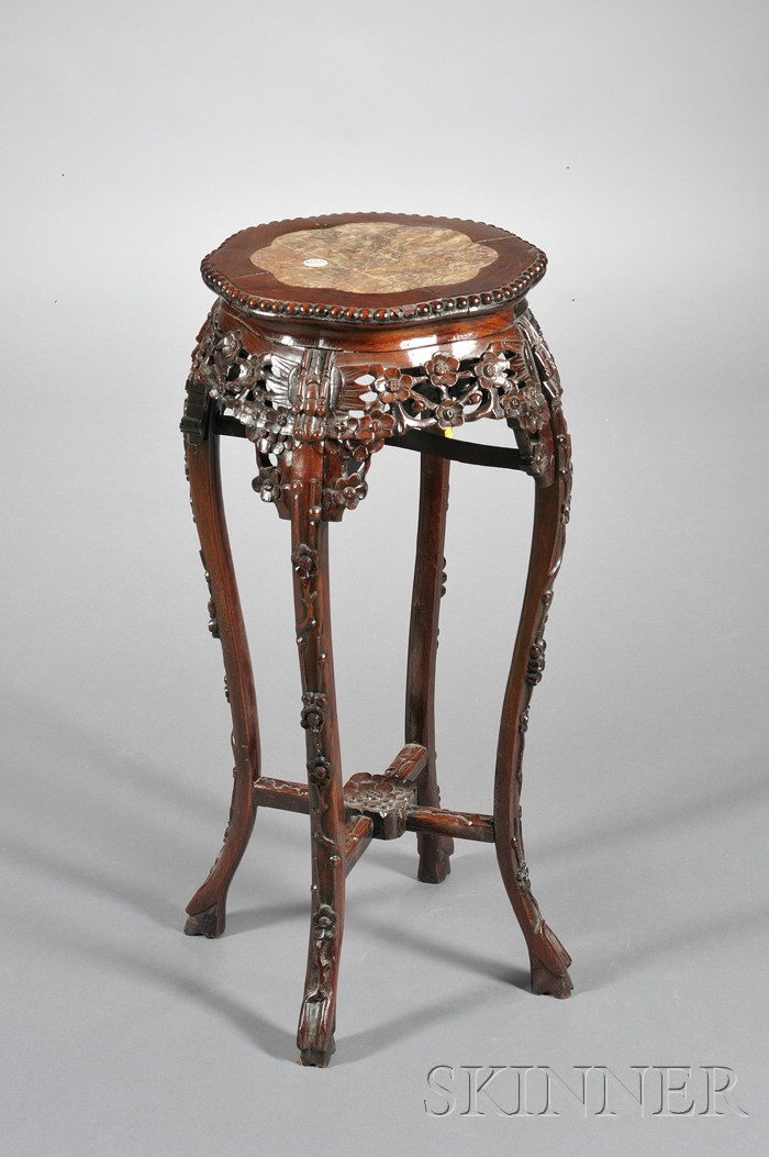 Rosewood Incense Stand