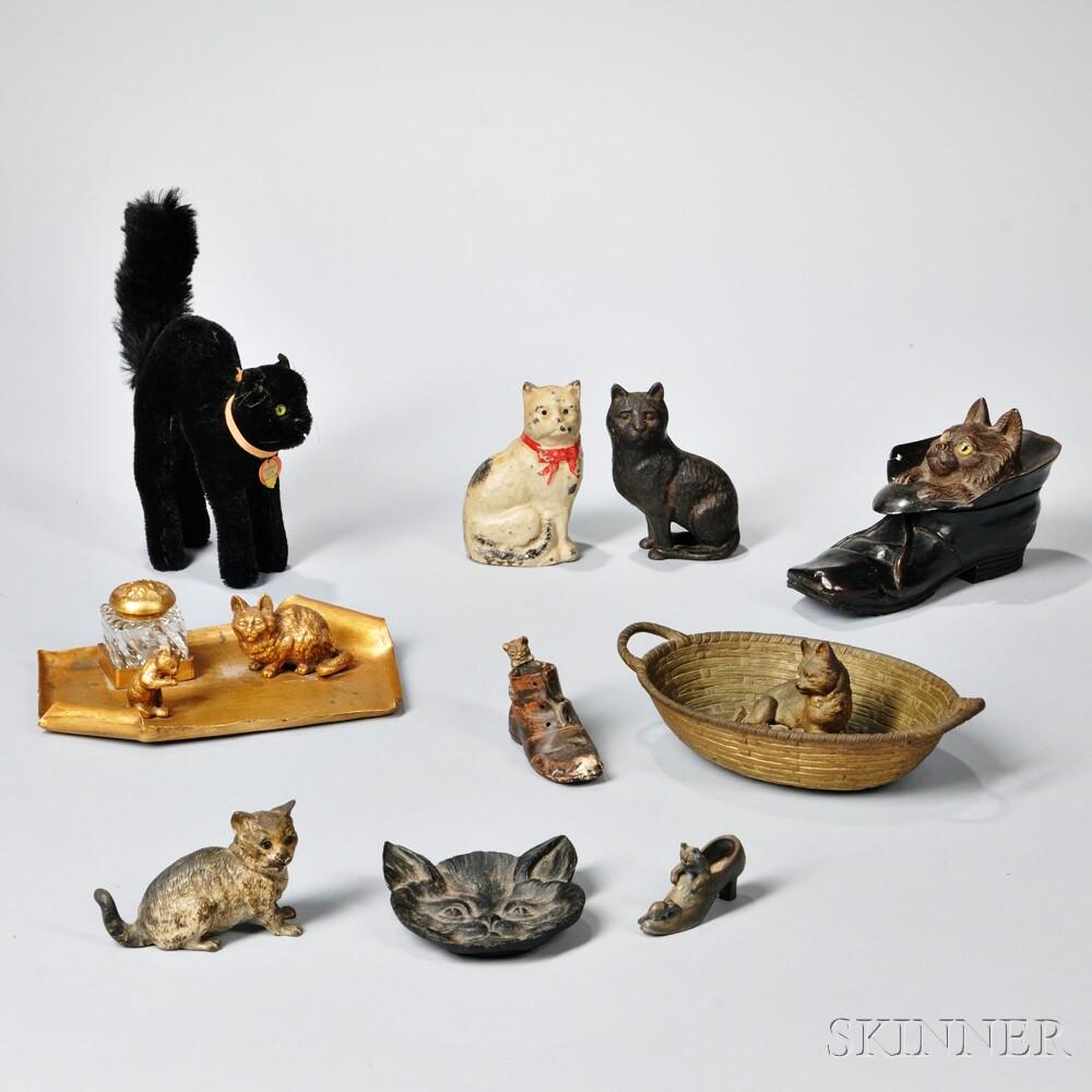 Ten Cat-related Pieces