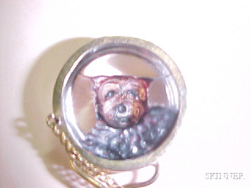 Reverse Crystal Stick Pin