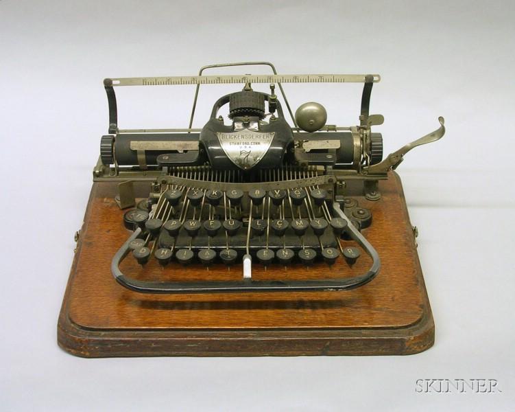 Blickensderfer No. 7 Typewriter