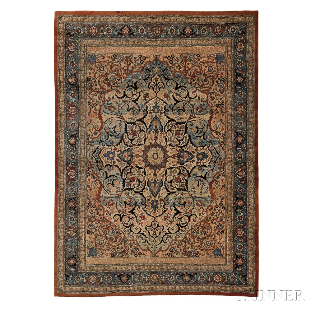 Haji-Jalili Tabriz Carpet