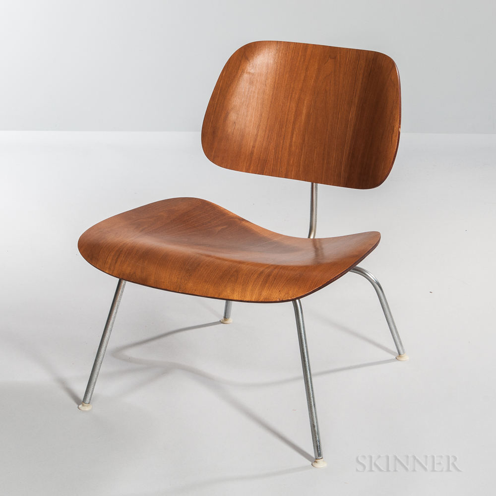Ray and Charles Eames for Herman Miller Lounge Chair Metal (LCM) Chair
