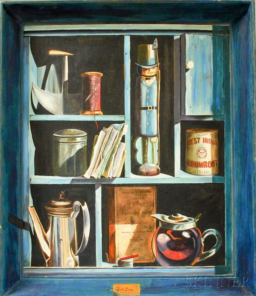 Jack Jones (American, 1940-2011)      Trompe l'Oeil