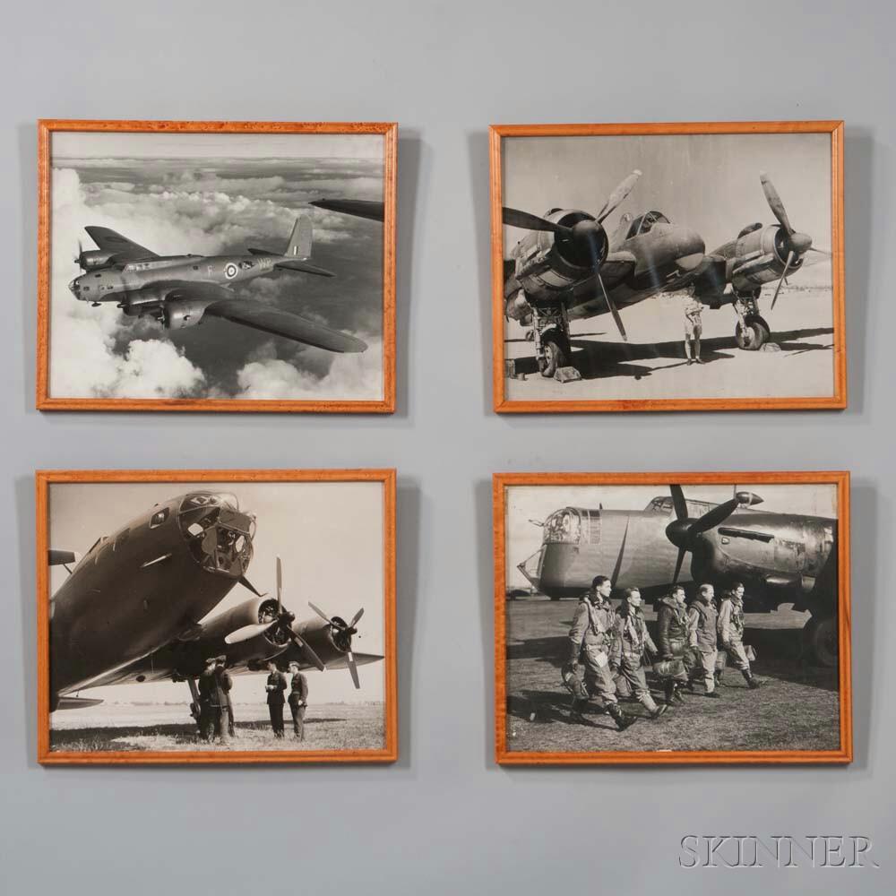 Four World War II Photographic Prints