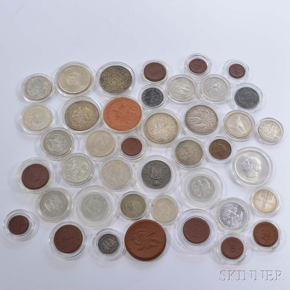 Group of Coins from the Weimar Republic