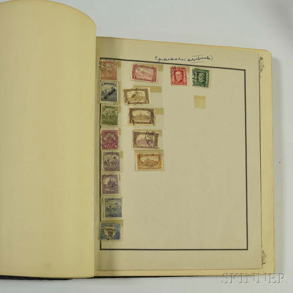 Collection of Assorted Stamps