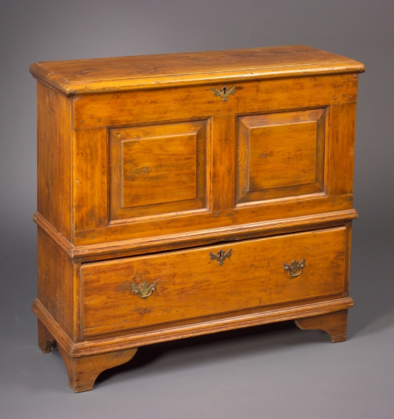 Long Island Chest over Long Drawer.