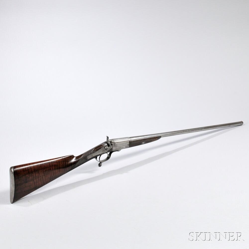 Edward Lang 20 Gauge Single-shot Shotgun