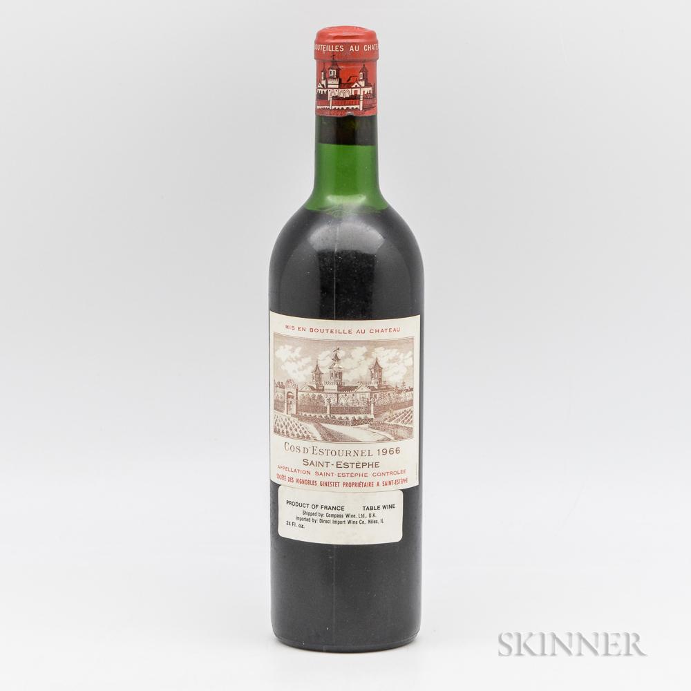 Chateau Cos dEstournel 1966, 1 bottle