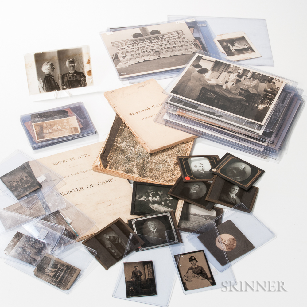 Collection of Early Medical Photographs and Ephemera