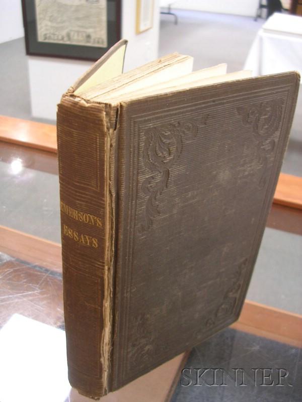 Emerson, Ralph Waldo (1803-1882), Presentation Copy to Family