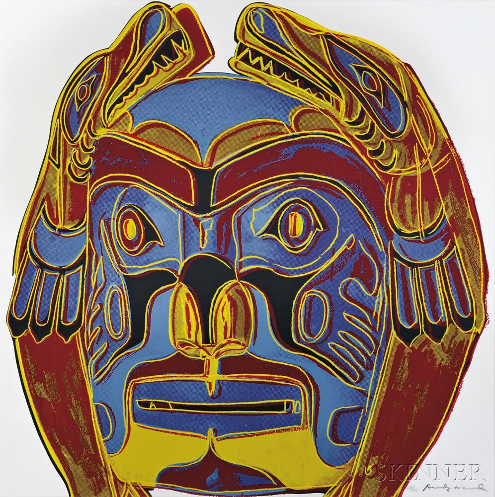 Andy Warhol (American, 1928-1987)      Northwest Coast Mask