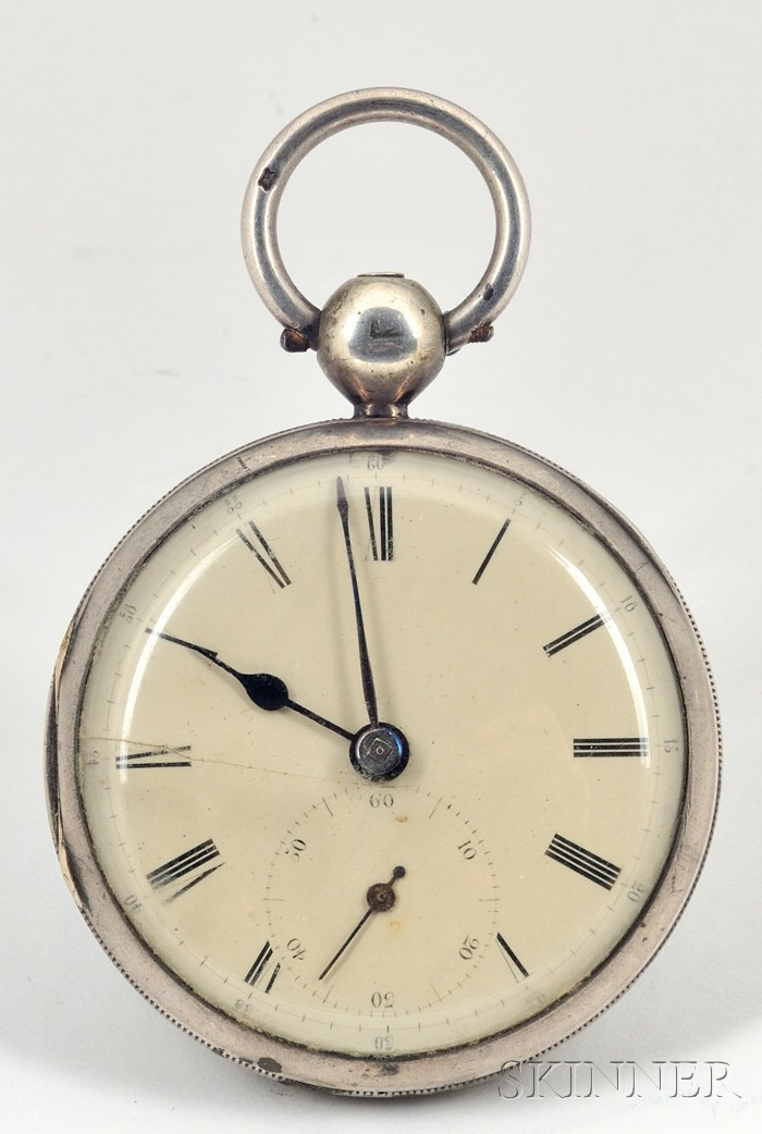 Three Silver Cased Watches by Taylor, Leders, and Moss