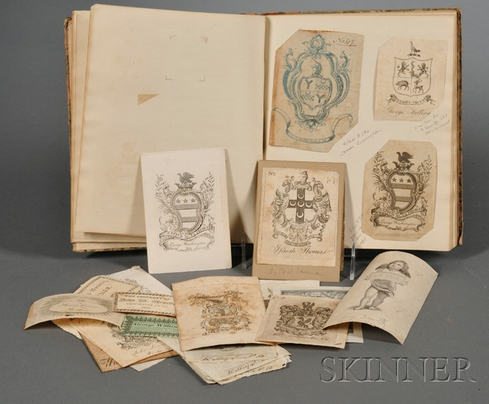 Collection of 18th-20th Century Bookplates