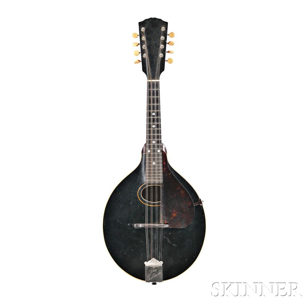 American Mandolin, Gibson Mandolin Guitar Company, Kalamazoo, Style A