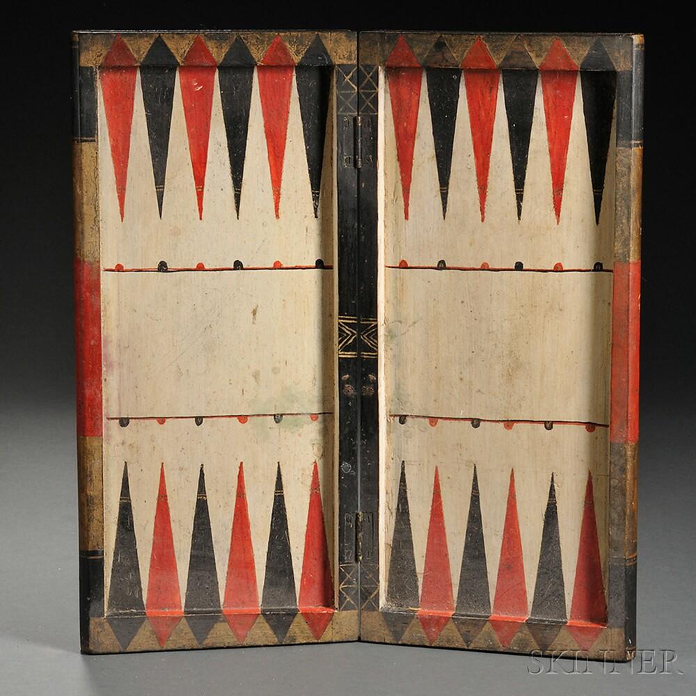 Folding Book-form Game Board Box