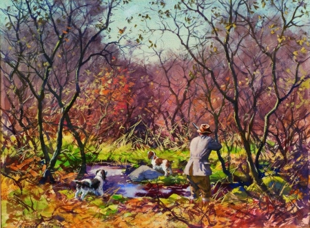 Aiden Lassell Ripley (American, 1896-1969)    The Brook Cover