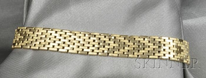 18kt Gold Bracelet, France