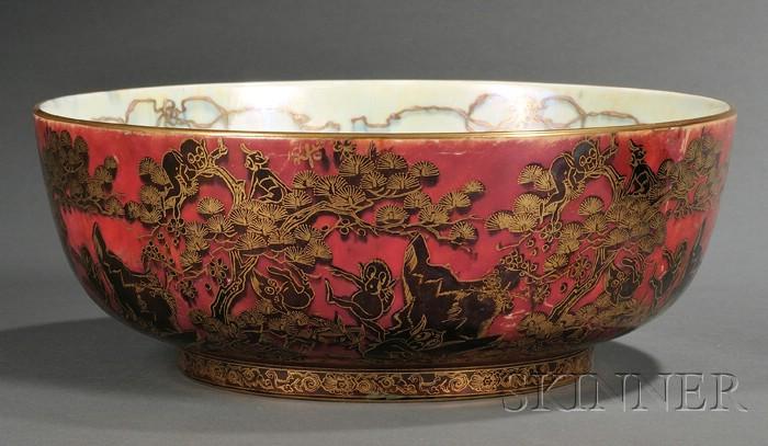 Wedgwood Fairyland Lustre Firbolgs Imperial Bowl