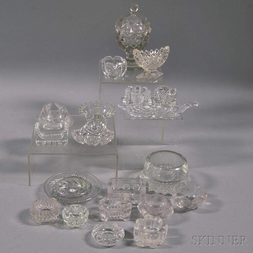 Twenty Colorless Glass Salts