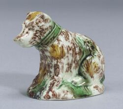 Staffordshire Earthenware Model of a Bear