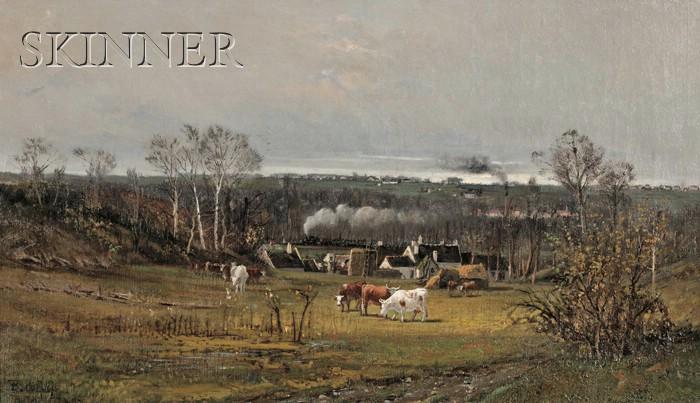François B. de Blois (Canadian/American, 1829-1913)      Butry