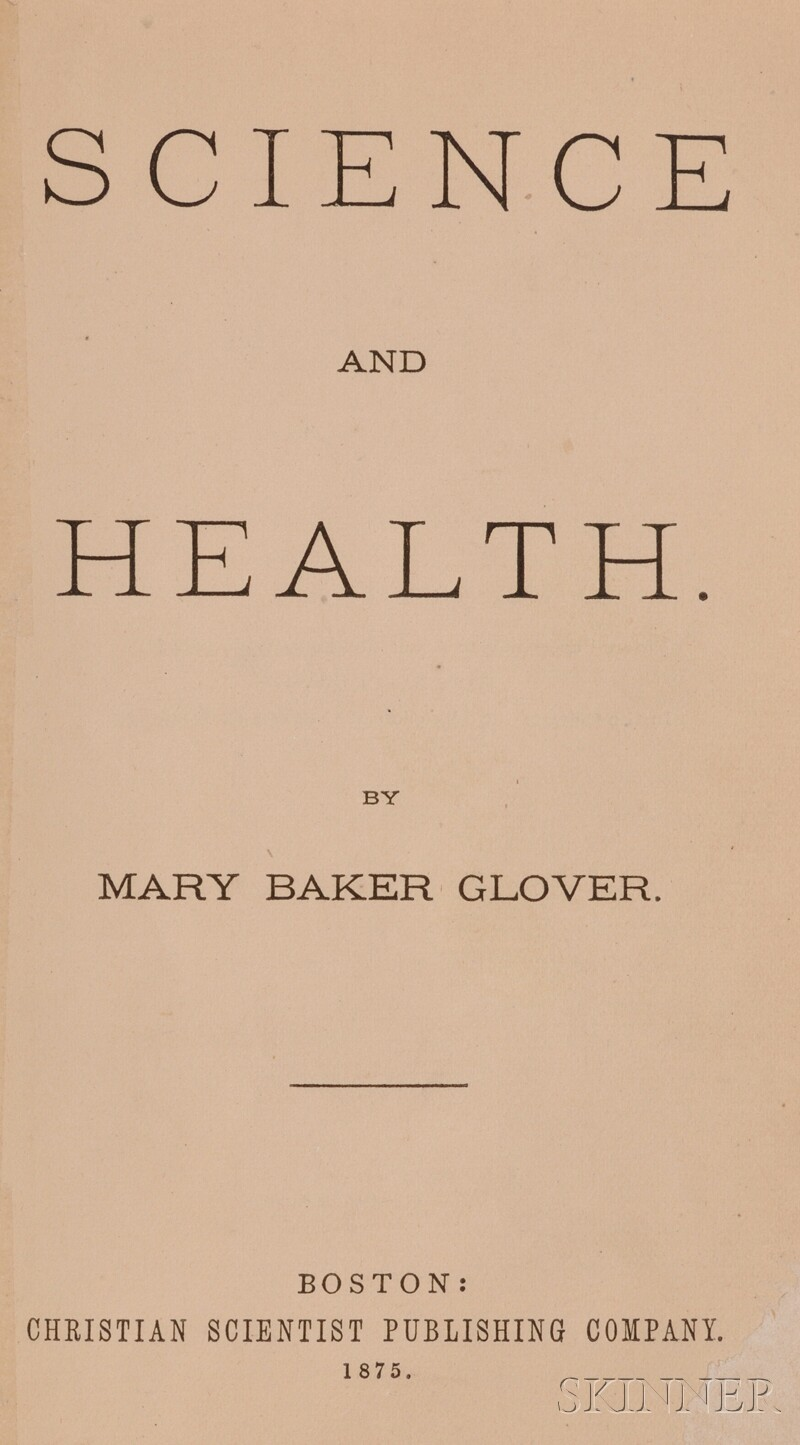 Eddy, Mary Baker Glover (1821-1910)