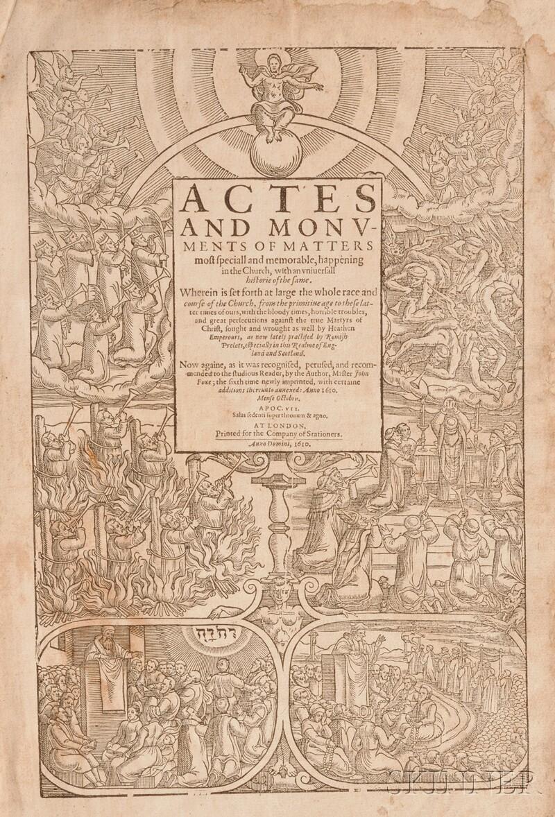 Foxe, John (1516-1587), (Book of Martyrs)