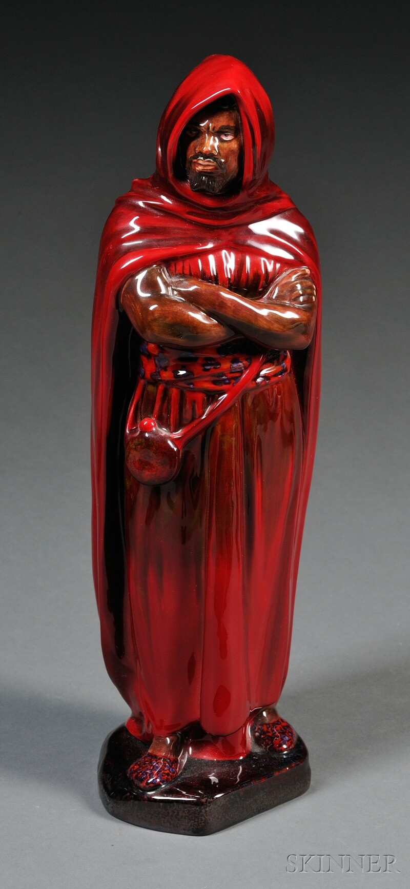 Royal Doulton Flambe Figure of a Moor
